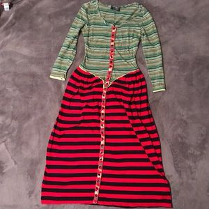 Vibrant Alley Cat by Betsey Johnson dress!